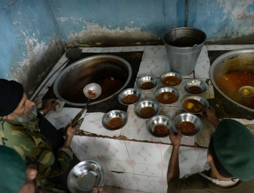 Tangiers International - How a civilian chef in Afghanistan escaped with his life from an insurgent bomb attack