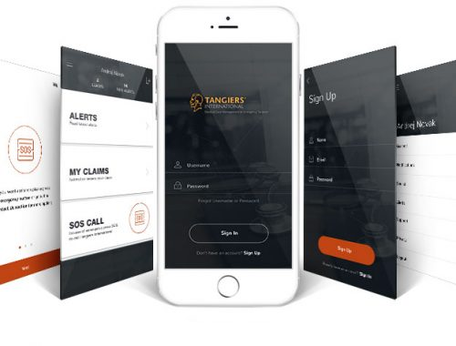 Tangiers International Customer App